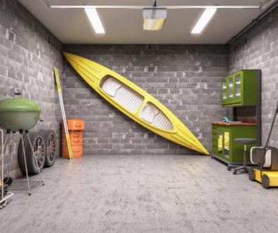Eine Garage erweitert Ihr Eigenheim um wertvollen Stauraum.